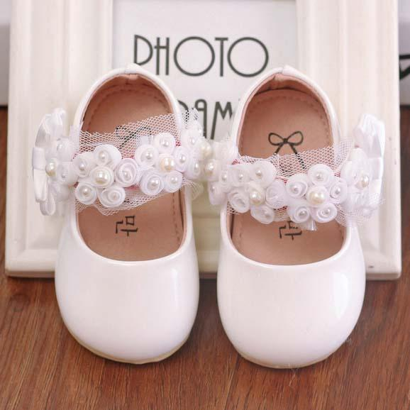 Kids Footwear Korean Flower Casual Lace Princess Shoes 2016 Spring ... 8780676feb4a