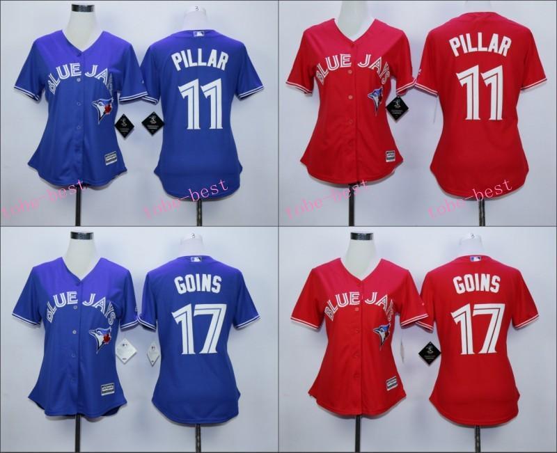 45526db1794 ... Blue Jays 29 Joe Carter Pink Fashion Womens Stitched Baseball Jersey 5  ...