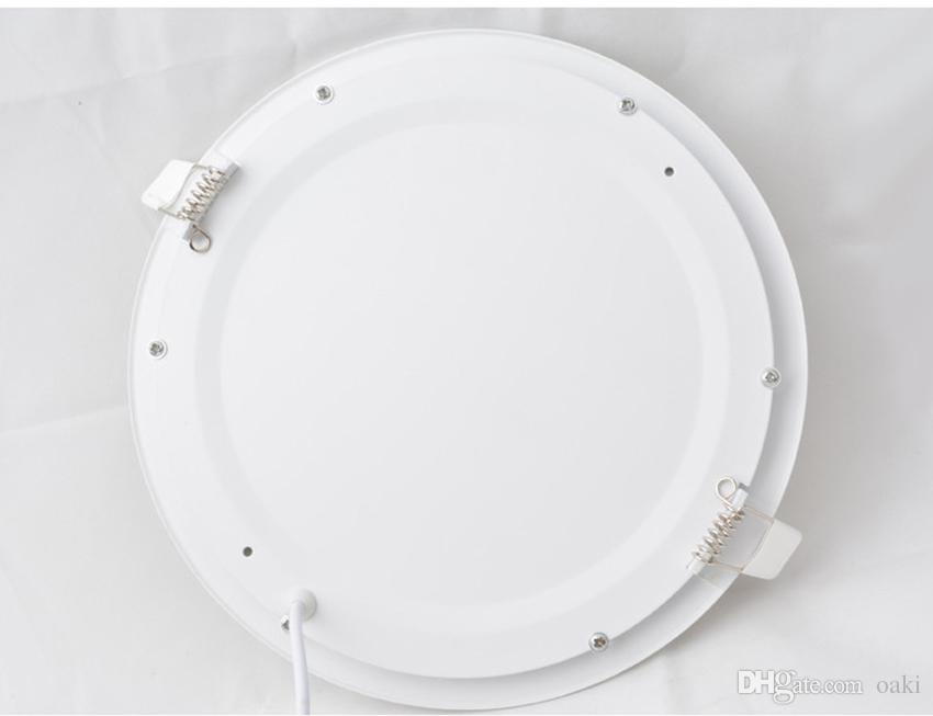 9W 18W LED Down Light LED Panel Round Downlight 100-110LM/W 3 Years Warranty Manufacturer Supply