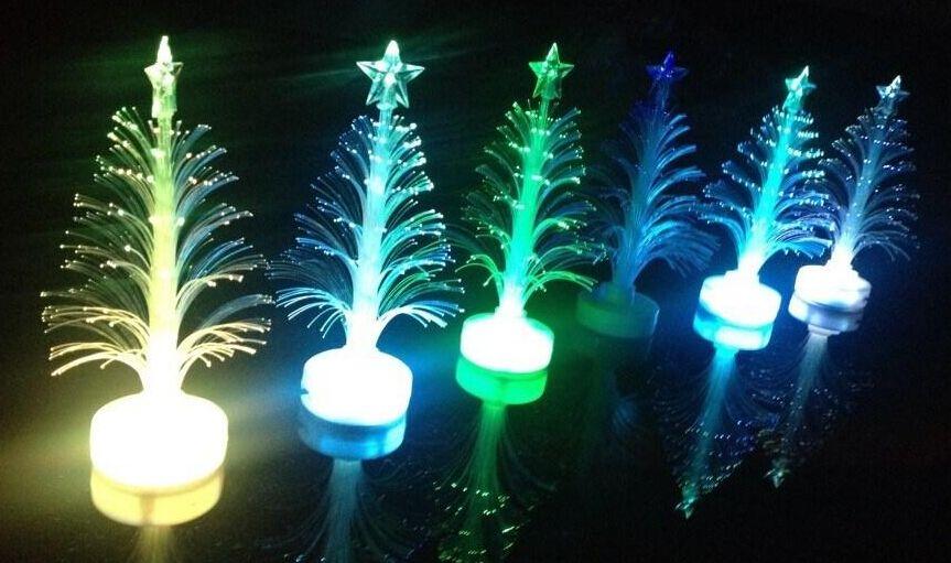Decorazioni natalizie Flash lampo di albero di Natale LED flash bar party regali di scena