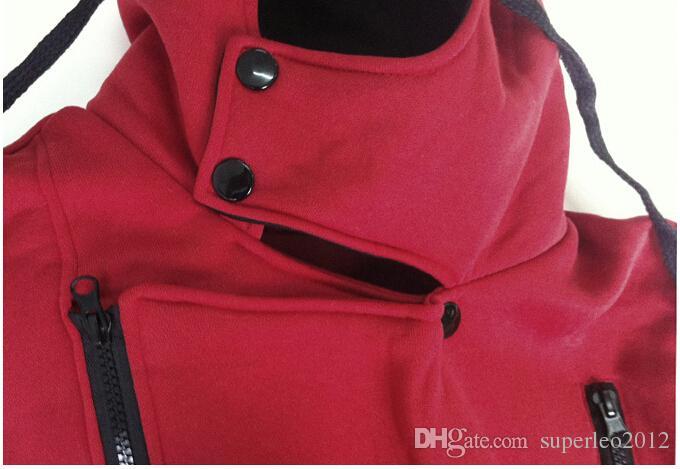 Мужская молния Осень Зима мода повседневная тонкий плюс Размеры кардиган Assassin Creed толстовки толстовка верхняя одежда куртки мужчины тонкий пуловер
