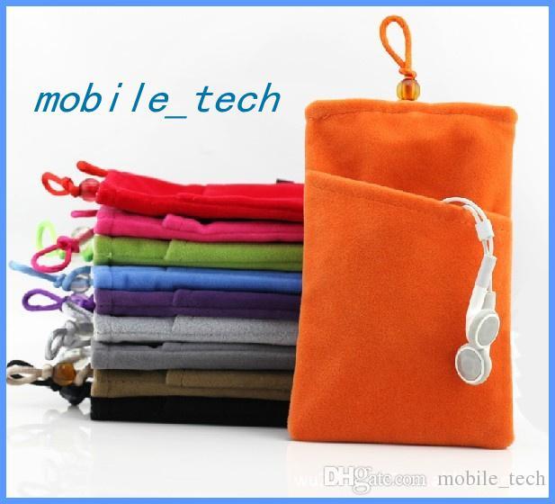 Haute Qualité Doux Téléphone Protecteur Sac Housse Sac Pour Iphone 5 5S Samsung Galaxy S3 S5 S5 i9500 i9600 jusqu'à