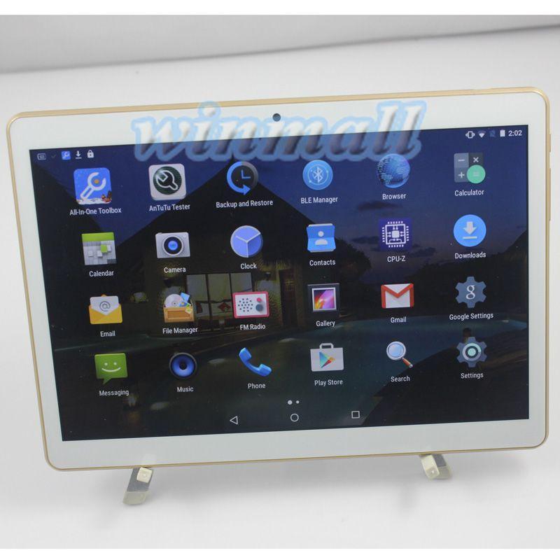 9.6 pouces IPS 3G Phablet Tablet PC Quad Core Faux MTK6592 octa core 4 Go 32 Go Bluetooth GPS Dual SIM T950s