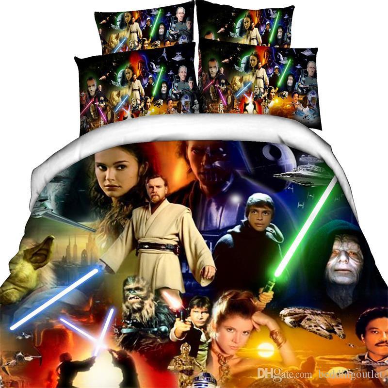 Star Wars Bedding Set The Force Awakens Duvet Cover Set Twin Full
