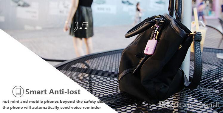 Neue Nuss 2 Update Nuss 3 Nuss Mini Smart Finder Itag Bluetooth WiFi Tracker Locator Gepäck Brieftasche Telefonschlüssel Anti Verloren Erinnerung