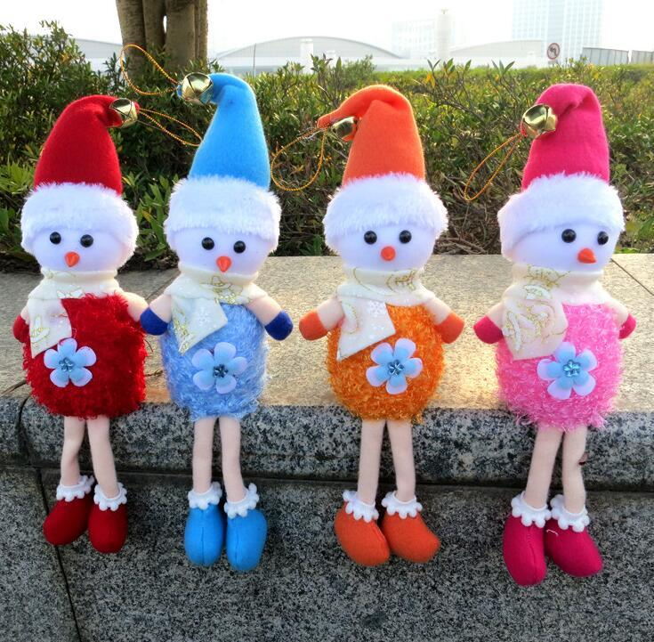Christmas Snowman Toy Doll Decoration Tree
