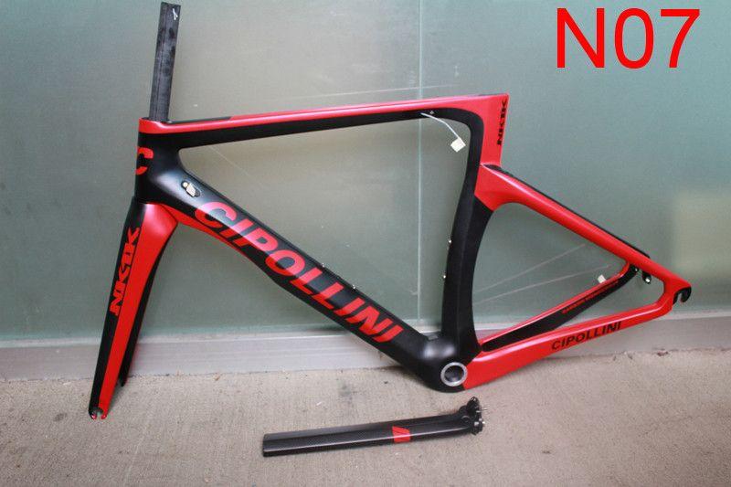NK1K cipollini frame carbon road bike frames 2018 racing bicycle frame carbon fiber bike frame, fork, seatpost, headset, clamp