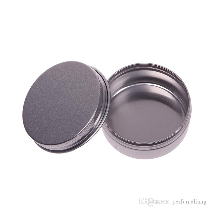 5 10 15 30 60 100 150 200 250 ml Empty Aluminium Cosmetic Containers Pot Lip Balm Jar Tin For Cream Ointment Hand Cream Packaging Box