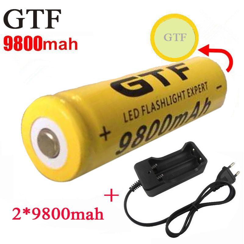 18650 Battery 3 7v 9800mah Rechargeable Li Ion Battery