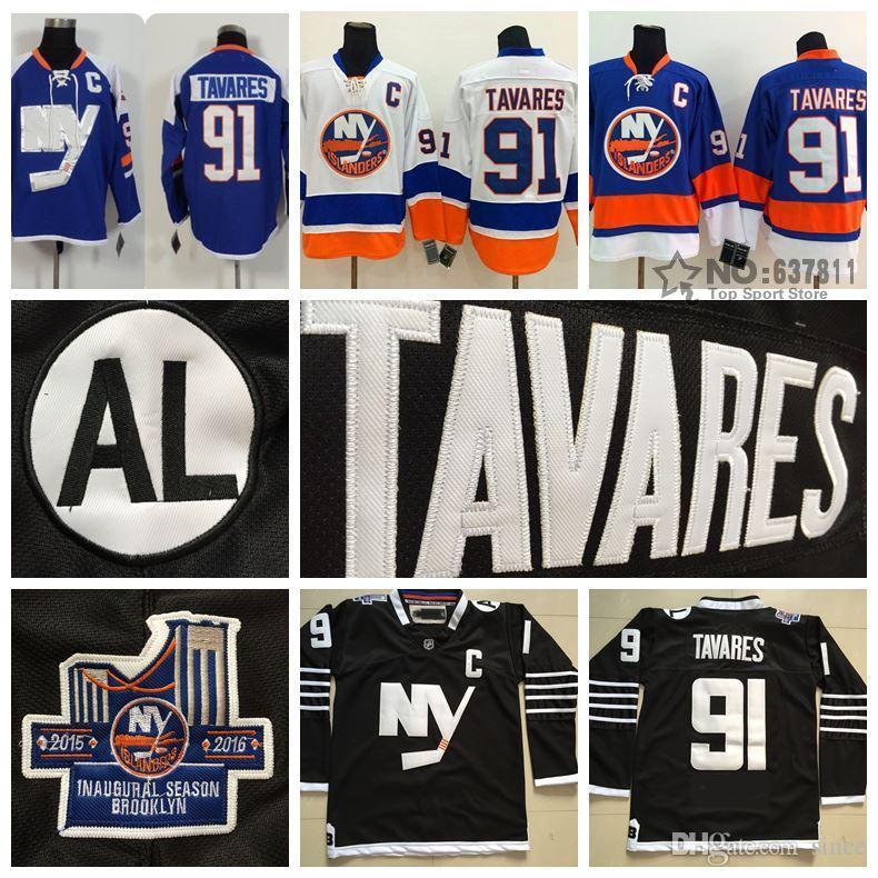 a31003f5f1f ... NHL Jersey 2017 2016 New, 2014 Stadium Series New York Islanders Hockey  Jerseys 91 John Tavares Jersey ...