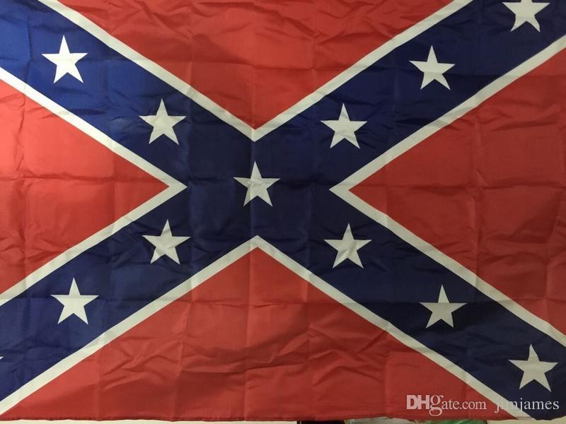 Verbündeter Rebell Flaggen Bürgerkrieg Rebel Flag Nationale Qualitäts-Polyester Zwei Seiten Pirnted 3 * 5 Bettle Flaggen 150 * 90cm