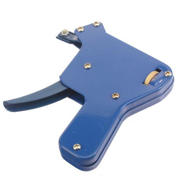 Forte Lock Pick Gun fabbro strumento apriporta - Blu + argento