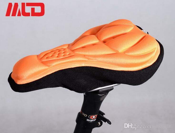 2015 New mountain bike riding saddle cover cushion space memory cotton bike socket sleeve cushion bicycles saddle cover cycling