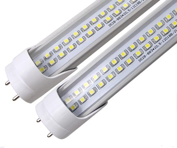 Led Tube T8 25w 4ft 288 Leds 2 Rows High Brightness Replace 50w ...