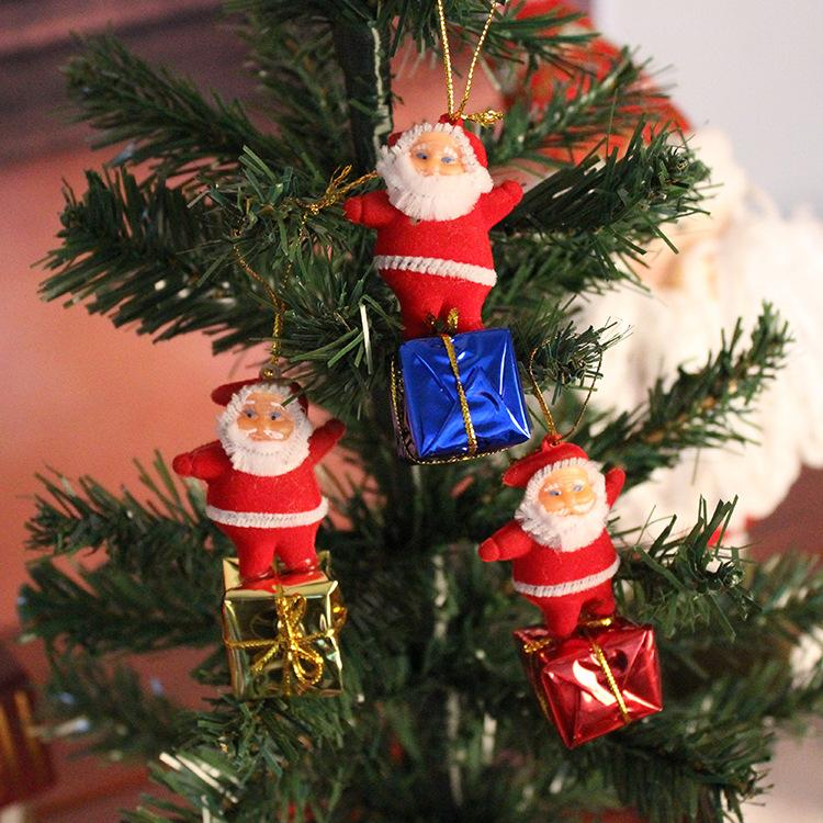 Christmas Tree Decorations Santa Claus Pendant Small Father