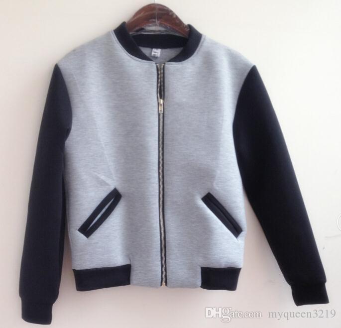 2018 무료 배송 NKOE 히트 칼라 카디건 스웨터 양털 재킷 칼라 짧은 단락