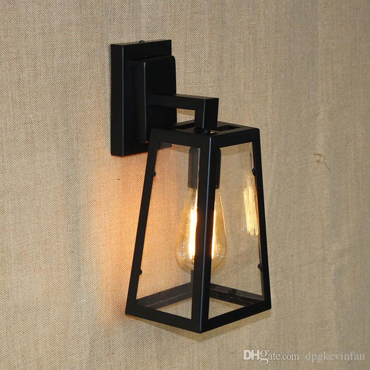 Loft Vintage Modern Wall Led Lamp Antique lights Black Classic Sconce for Home Indoor Bedside Up Down Bed Retro Cheap Lighting