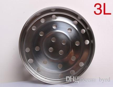 Edelstahl Dampfblaskasten Metalldampfkorb Dampfablage Geräteteile einklammern Beschläge accessories20.1 * 5,1 cm ohne Griff mount
