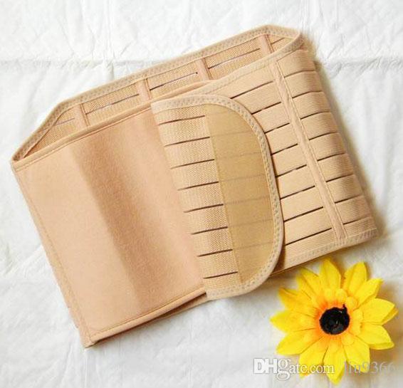 Maternità donne incinte addome dopo il parto con corsetto post-partum cintura dimagrante cintura regolazione corsetti fascione caldo shapers shapewear