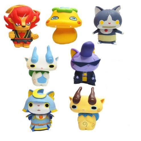 70box 8cm gift box package japanese cartoon yokai watch action