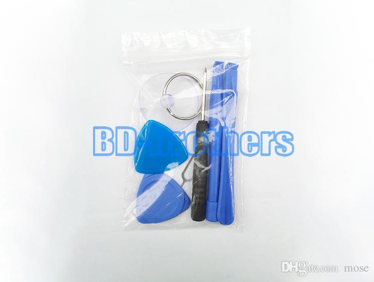 7 in 1 reparatur öffnung wartung werkzeuge kit hebeln schraubendreher mit 0,8 pentalobe für iphone 4 4g 5 5 s 6g 6 plus 200 sätze / los