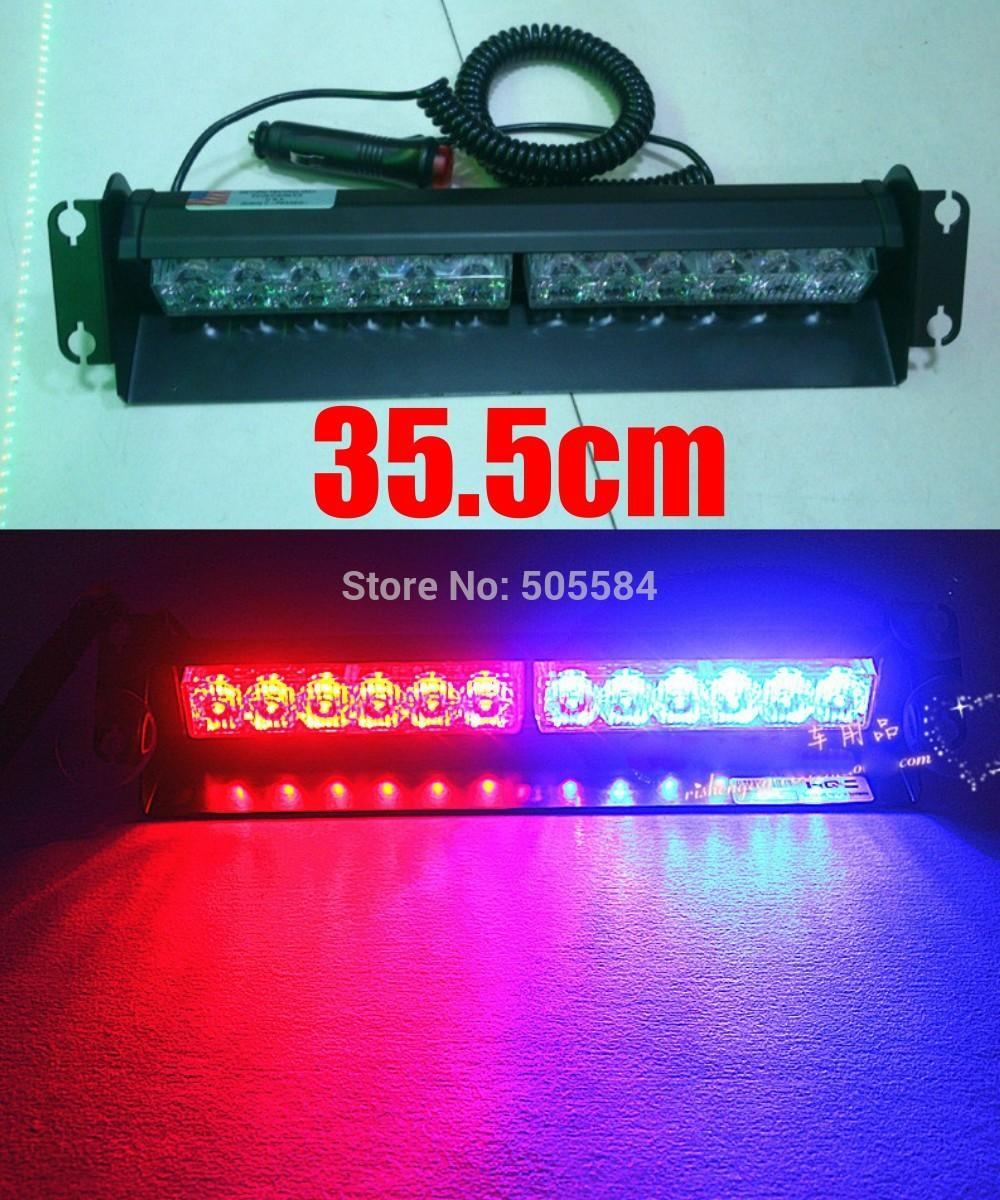 Car 12v Cigarette Lighter Powered Red Blue Flash Light Bar Police Fireman  Autos Windshield Warning Strobe Lamp With Suction Cups Led Drl Light Led  Drl ...