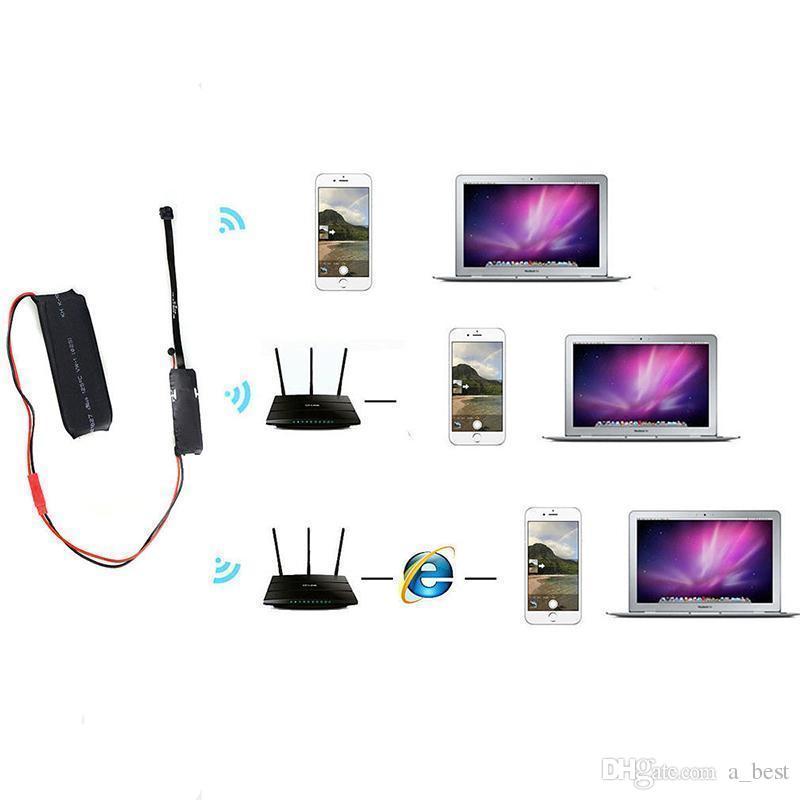 Módulo de bricolaje Mini cámara 1080P P2P WIFI Mini cámara IP Seguridad de la oficina en el hogar Cámara de vigilancia Full HD mini DV DVR Z88