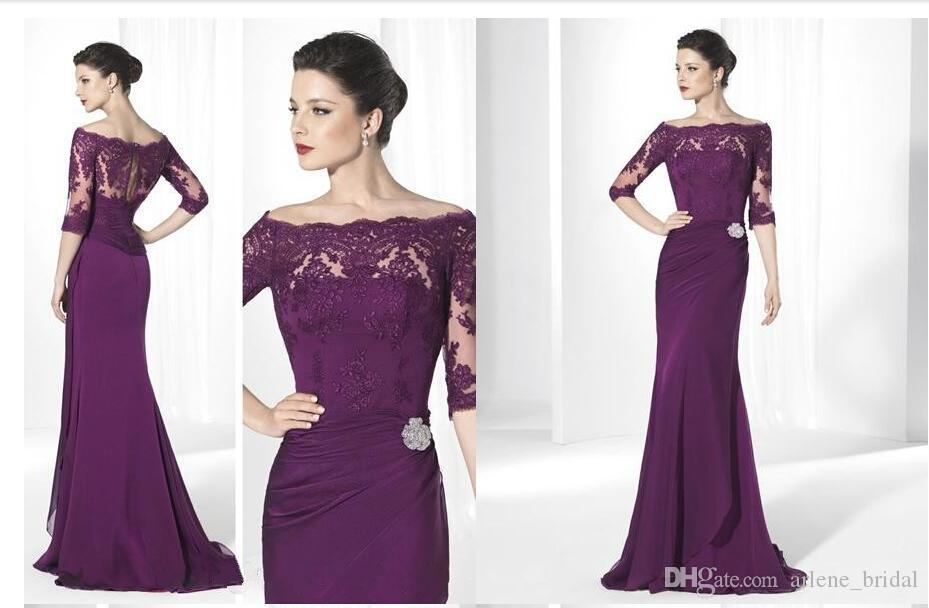 2015 Formal And Modest Lace Long Floor Length Off The