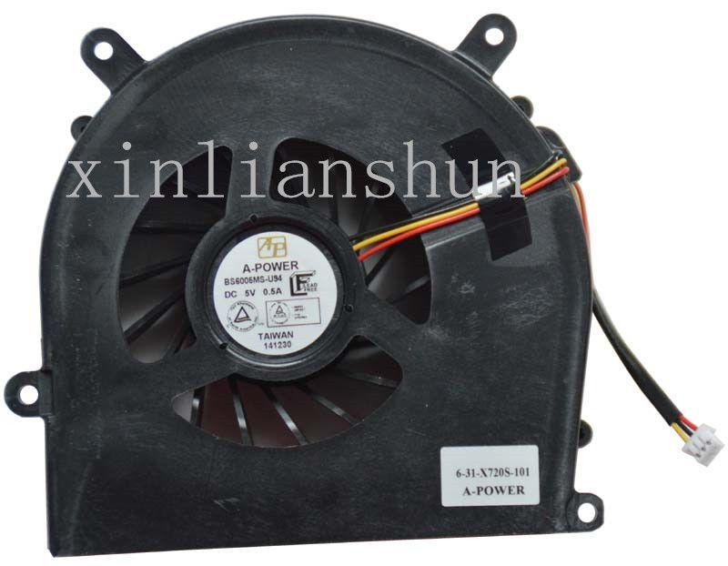 Neuer Laptop CPU-Lüfter für BS6005MS-U94 6-31-X720S-101 A-POWER