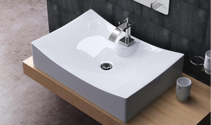 Bathroom Sinks Online 2017 td3008/1 countertop ceramic vessel sink bathroom square bowl