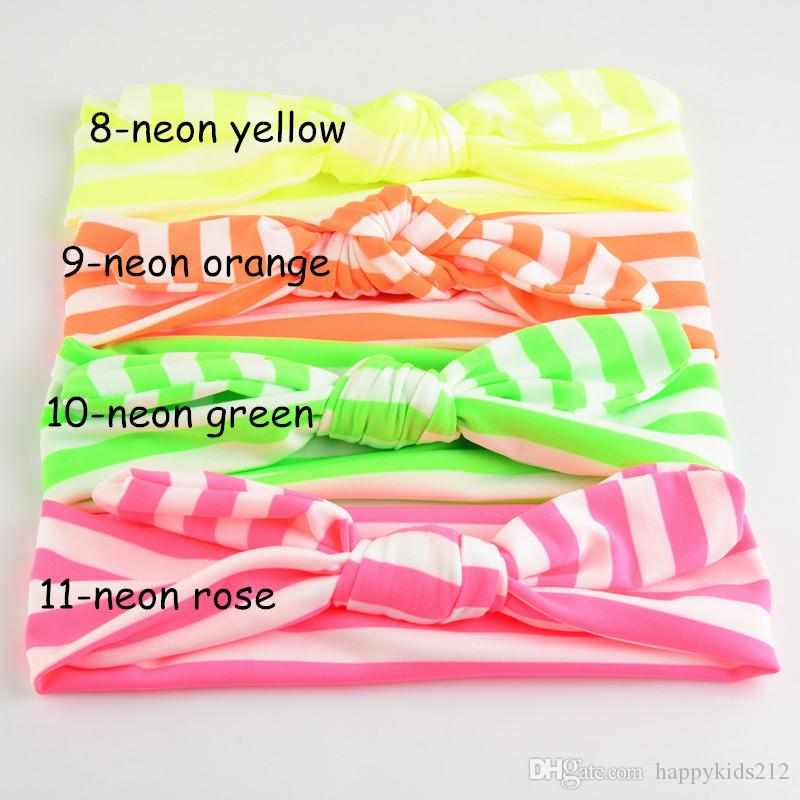 Children elastic Striped hair band Candy color hairbands Baby hair Accessories 2015 New Fashion Hair Sticks