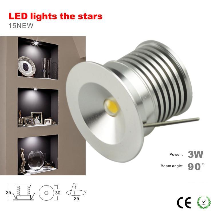 Ip65 waterproof 3w mini led spot downlight lamp 100lm w - Spot led ip65 12v ...