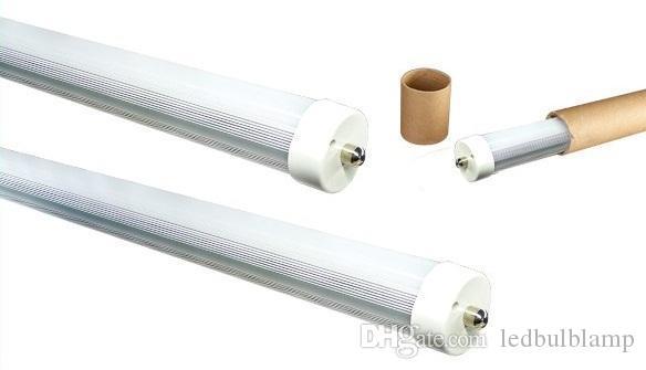 2.4m 45W einzelner Stift FA8 LED Leuchtröhre 8ft T8 führte Leuchtstoffröhren SMD 2835 warmes / natürliches / kühles Weiß
