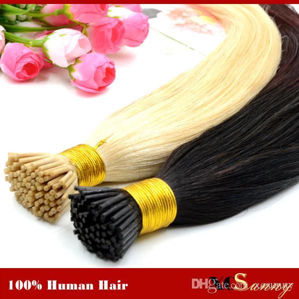 Xcsunny I Tip Virgin Hair Extensions 1820 Natural Hair Extensions