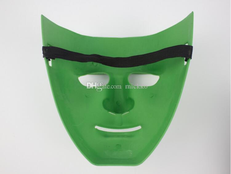 Moda BBOY Dans Maskeleri JabbaWockeeZ PVC Yüz Maskeleri Siyah Beyaz Mavi Yeşil Renkler Erkekler Parti Maskeleri