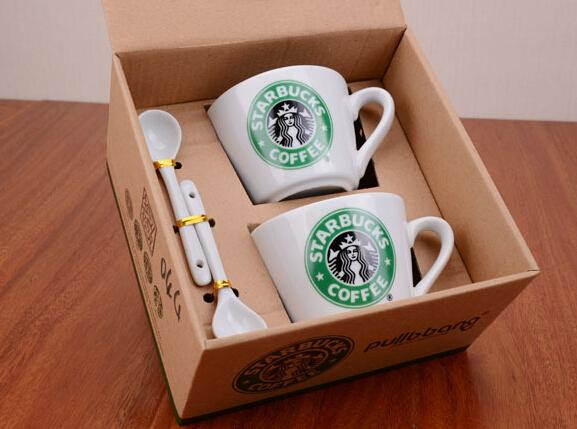 coffee cup set starbucks cupcoffee mug water bottlecute