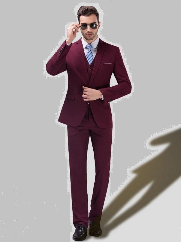 2015 New Fashion Men'S Suit British Fashion Men Suits Formal ...