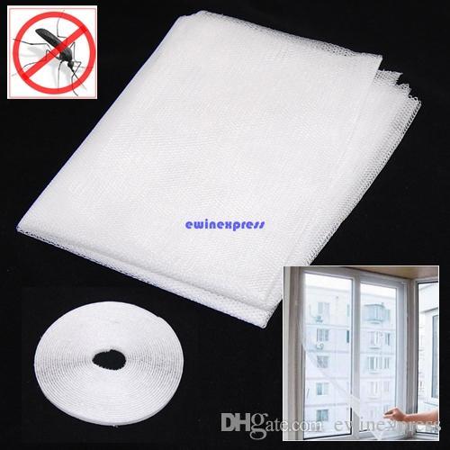 Top qualität Weiß Große Fenster Bildschirm Mesh Net Insekten Fliegen Bug Moskito Moth Tür Netting Neu