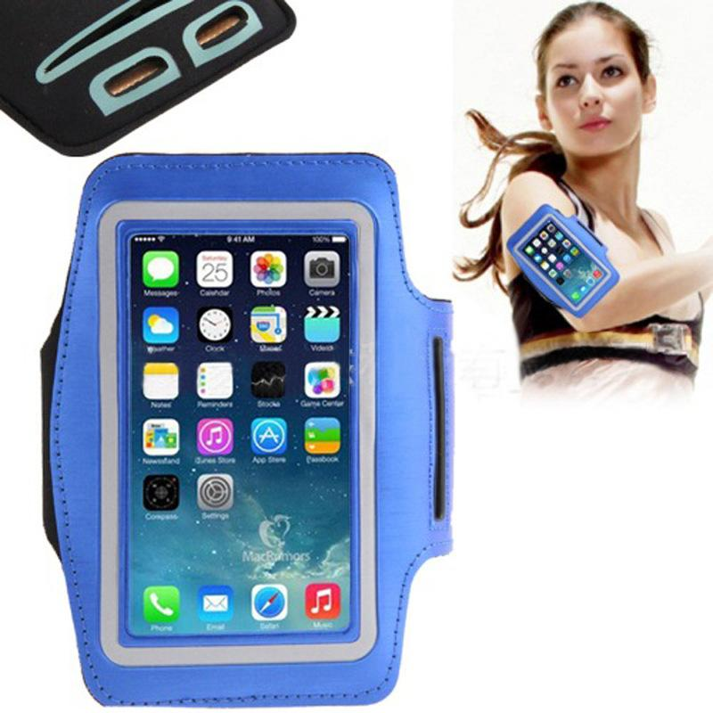 Wholesale Armband Case Pouch Nylon Running Gym Sport cover waterproof For iphone 6 Plus Samsung galaxy S5 S4 S3 Arm Band bag