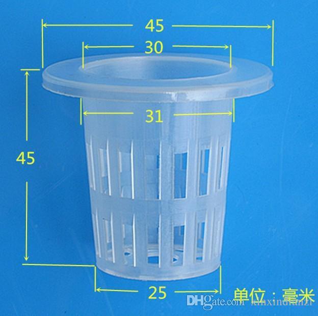 Mesh Pot Net Cup Basket Hydroponic Aeroponic Plant Grow Clone Kit Net Slit Pots For Hydroponic Aeroponic E488L