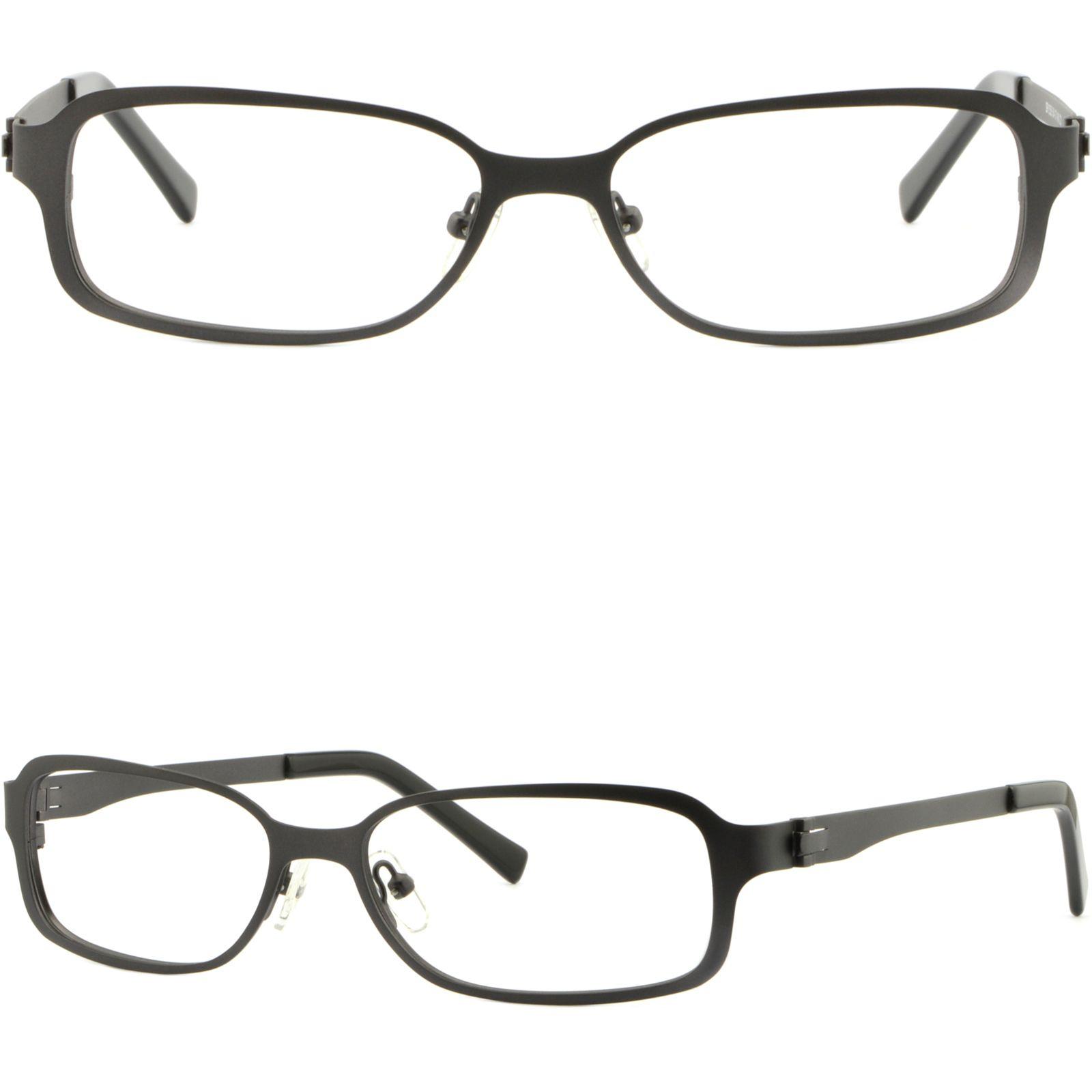 f553338a0c Rectangular Men Women Metal Frame Prescription Glasses Sunglasses Dark Grey  Gray Glasses Frame Online with  35.87 Piece on Aceglasses s Store