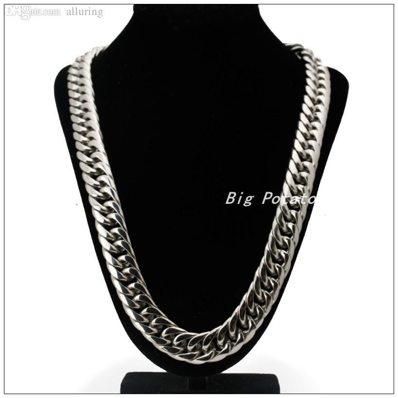 Best Wholesale 60cm Length 16mm 20mm Width Fashion Chain 316l ...