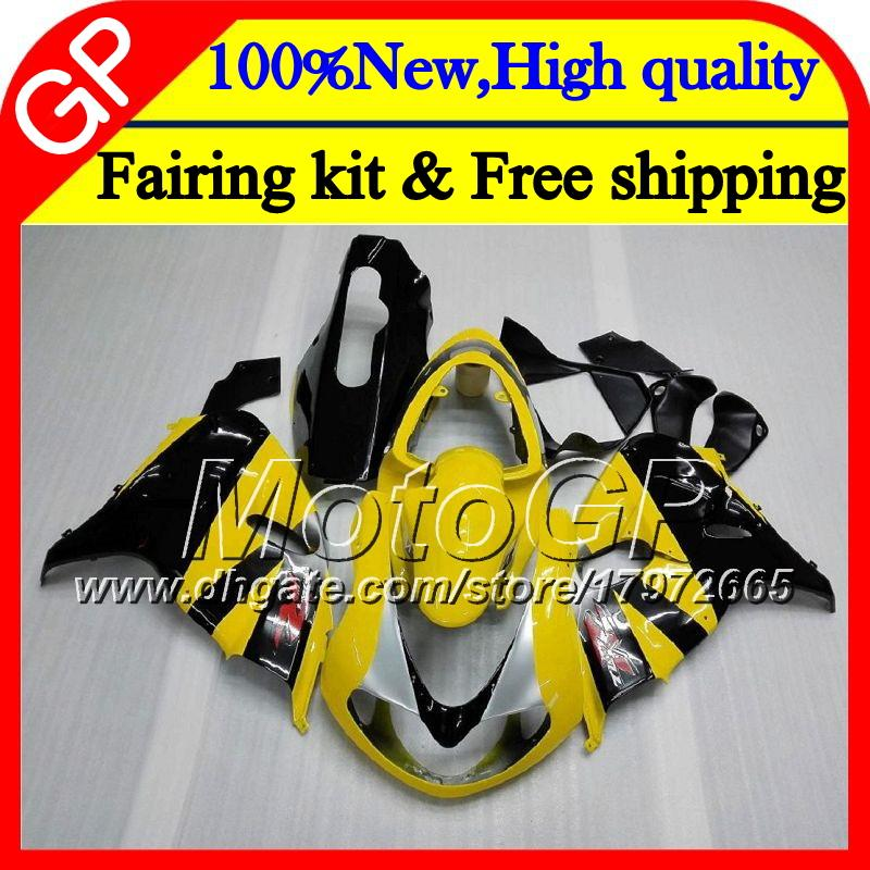 Body For SUZUKI TL 1000 R TL1000R 98 99 00 Yellow black 01 02 03 34GP7 TL1000 R TL 1000R 1998 1999 2000 2001 2002 2003 Motorcycle Fairing