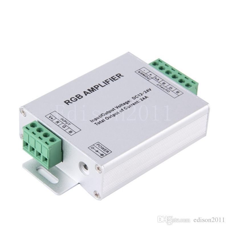 Edison2011 светодиодные полосы RGB усилитель DC12V RGB контроллер для 35285050 SMD RGB светодиодные полосы света свободный корабль