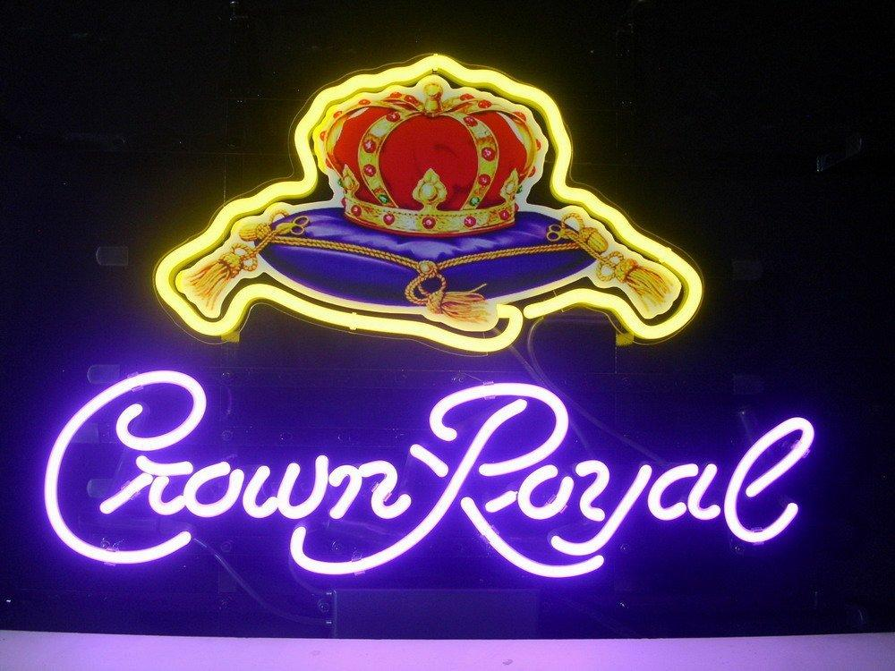 2018 New Crown Royal Light Neon Beer Sign Bar Pub Sign
