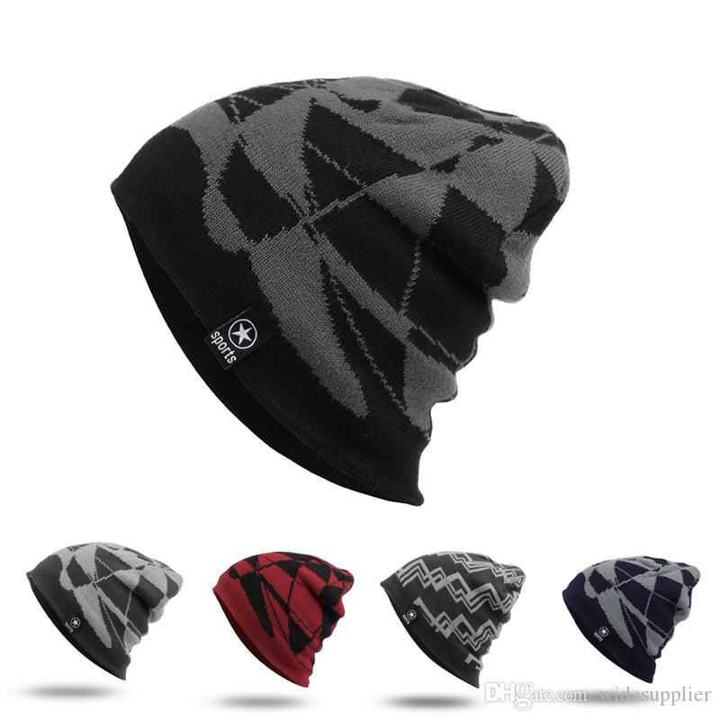 a7b9598774b Hot Sales Bursts Style Warm Winter Hat Autumn And Winter Outdoor Warm Plus  Plush Cap Sports Winter Hat Ski Knitted Hat Headgear Hats Bucket Hats From  ...