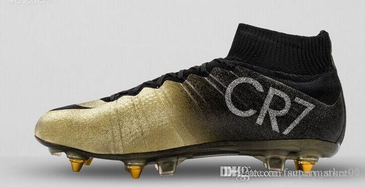 5bdd786b8fd3 Nike Mercurial Superfly CR7 FG Mens Soccer Shoes Ronaldo Gold New ...