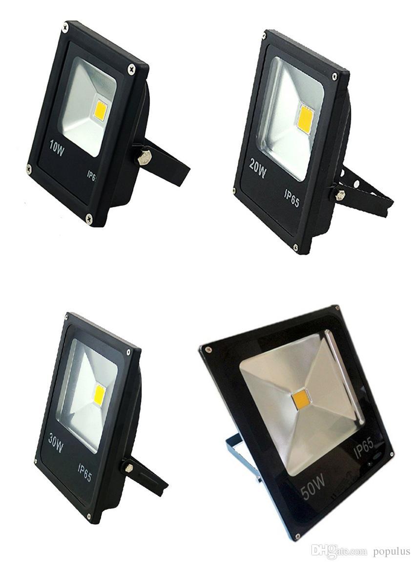 LED Floodlight LED Flood Light 30W 50W Waterproof IP65 Thick Housing 100-110LM/W High Brightness Bright AC85-265V 3 Years Warranty