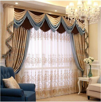 2018 Iraq Mantle Nepalese Relief Simple European Curtains Living ...
