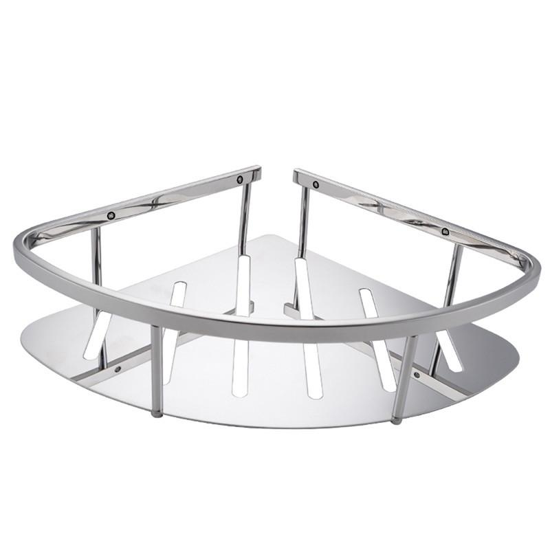 Ordinaire 2018 2015 Wholesale Bathroom Corner Triangular Tub And Shower Caddy Basket  Polished 304 Sus Stainless Steel Bathroom Rack From Luxbath, $72.37 |  Dhgate.Com